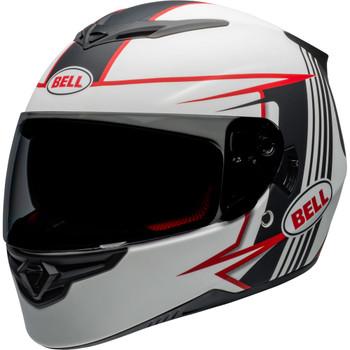 Bell RS-2 Helmet - Swift Matte White/Black/Red