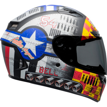 Bell Qualifier DLX MIPS Helmet - Devil May Care 2020 Matte Gray