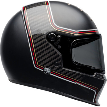 Bell Eliminator Helmet - Carbon RSD The Charge Matte/Gloss Black