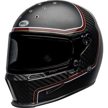 Bell Eliminator Helmet - Carbon RSD The Charge Matte/Gloss Black