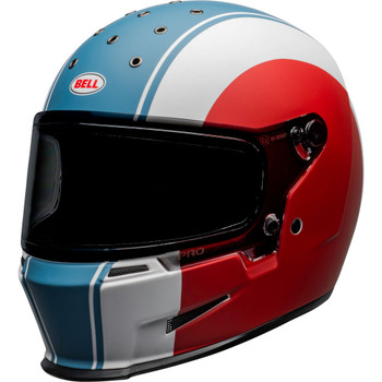 Bell Eliminator Helmet - Slayer Gloss White/Red/Blue