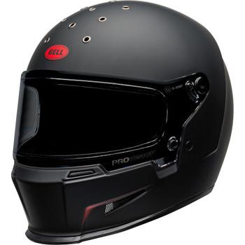 Bell Eliminator Helmet - Vanish Matte Black/Red