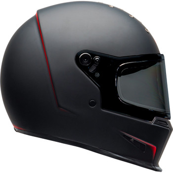 Bell Eliminator Helmet - Vanish Matte Black/Red