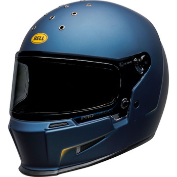 Bell Eliminator Helmet - Vanish Matte Blue/Yellow