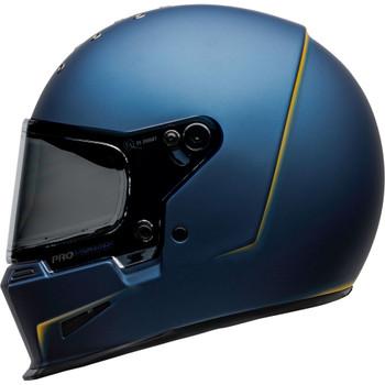 Bell Eliminator Helmet - Vanish Matte Blue/Yellow