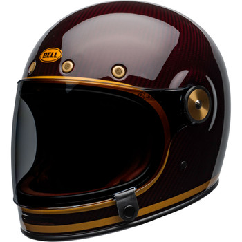 Bell Bullitt Helmet - Carbon Transcend Gloss Candy Red/Gold