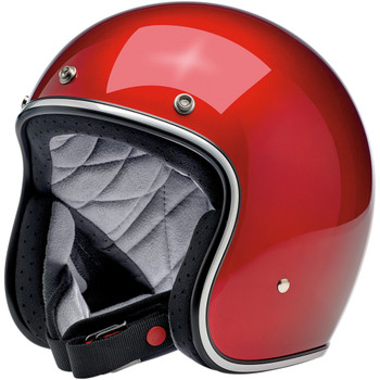Biltwell Bonanza Helmet - Metallic Candy Red