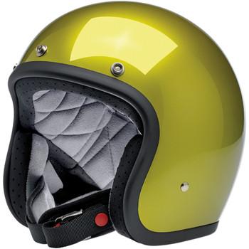 Biltwell Bonanza Helmet - Metallic Sea Weed