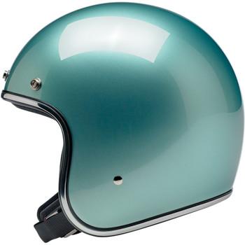 Biltwell Bonanza Helmet - Metallic Sea Foam