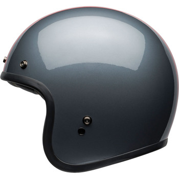 Bell Custom 500 Helmet - Rally Gloss Gray/Red