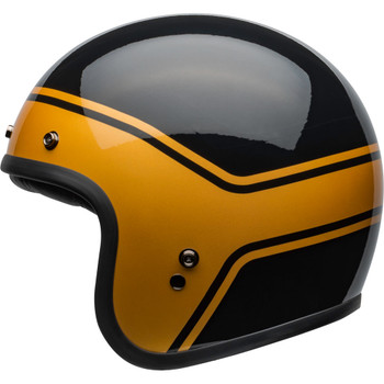 Bell Custom 500 Helmet - Streak Gloss Black/Gold