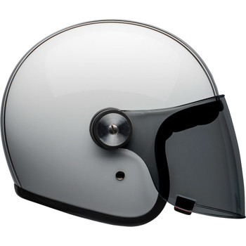 Bell Riot Helmet - Rapid Gloss White/Black