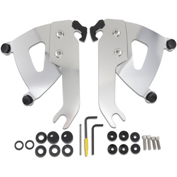 Memphis Shades Road Warrior Fairing Trigger-Lock Mounting Kit for 2018-2020 Harley Softail Slim