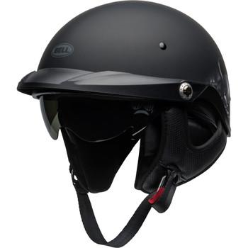 Bell Pit Boss Helmet - Roses Matte Black/Gunmetal