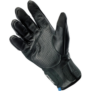Biltwell Belden Leather Gloves - Black