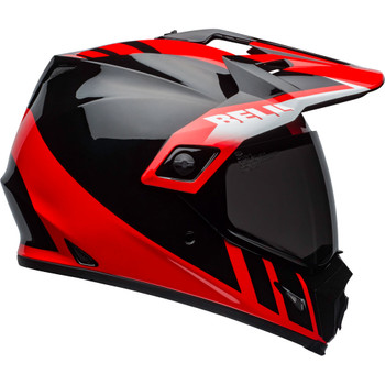 Bell MX-9 Adventure MIPS Helmet - Dash Gloss Black/Red/White