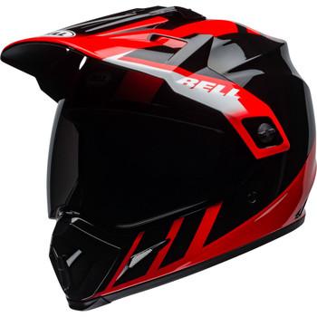 Bell MX-9 Adventure MIPS Helmet - Dash Gloss Black/Red/White