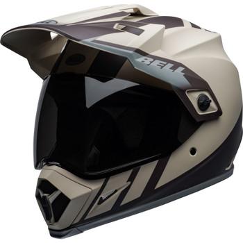 Bell MX-9 Adventure MIPS Helmet - Dash Matte Sand/Brown/Gray