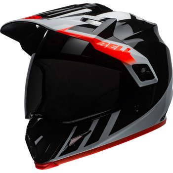 Bell MX-9 Adventure MIPS Helmet - Dash Gloss Black/White/Orange