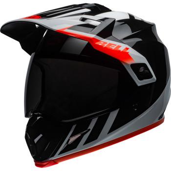 Bell MX-9 Adventure MIPS Helmet - Dash Gloss Black/White/Orange