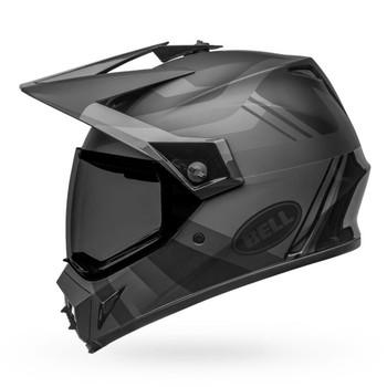 Bell MX-9 Adventure MIPS Helmet - Marauder Matte/Gloss Blackout