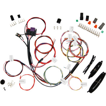 Namz Complete Bike Wiring Harness - No Signals