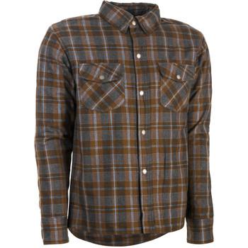 Highway 21 Marksman Flannel Shirt - Brown/Tan