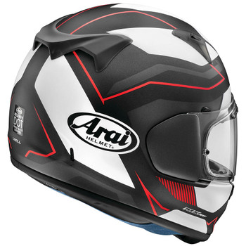 Arai Regent-X Helmet - Sensation Red