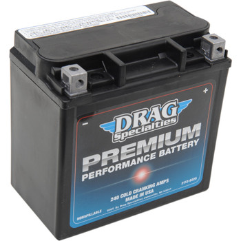 Drag Specialties Premium Performance Battery for Harley - Repl. OEM #65958-04