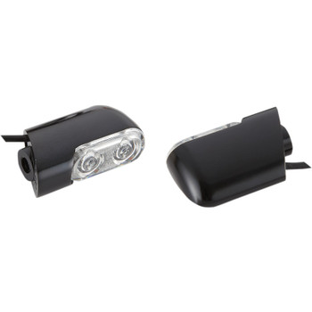 Arlen Ness Bolt-On Amber Turn Signals for 2006-2020 Harley Touring - Black