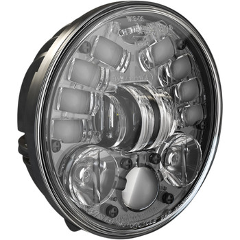 "J.W. Speaker 5.75"" Pedestal Mount LED Adaptive 2 Headlight - Black"