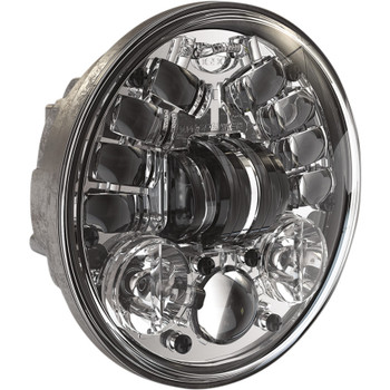 "J.W. Speaker 5.75"" LED Adaptive 2 Headlight - Chrome"