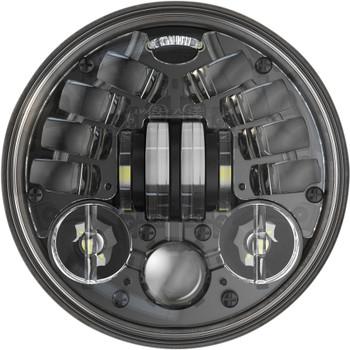 "J.W. Speaker 5.75"" LED Adaptive 2 Headlight - Black"