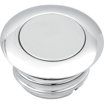 Drag Specialties Vented Pop-Up Gas Cap for 1996-2020 Harley - Chrome