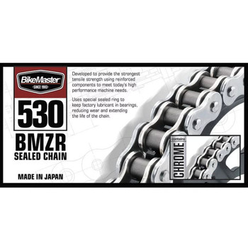 BikeMaster 530 x 120 BMZR Series Chain - Black/Gold