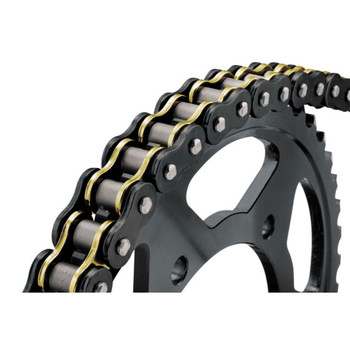 BikeMaster 530 x 120 BMZR Series Chain - Black/Gold