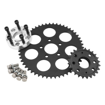 Twin Power Chain Conversion Kit for 2006-2017 Harley Dyna and Softail