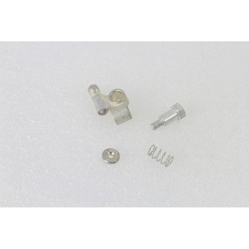 V-Twin Linkert Carburetor Needle Valve Lever Kit Cadmium Plated for 1936-1952 Harley - Repl. OEM #27395-27