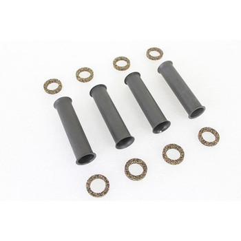 V-Twin Lower Pushrod Cover Kit Parkerized for 1940-1947 Harley