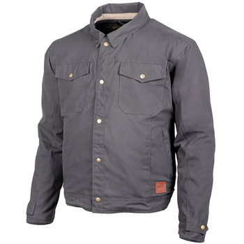 Cortech Denny Canvas Jacket - Charcoal