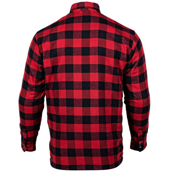 Cortech Bender Armored Moto Flannel Shirt - Red Tide