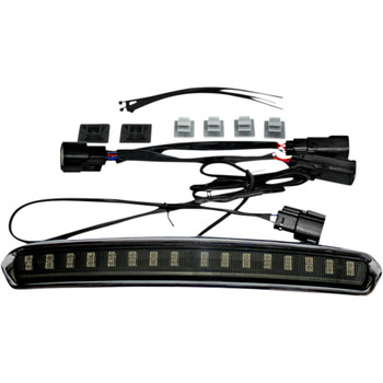 Custom Dynamics High Mount Tour Pak LED Light for 2014-2020 Harley Touring - Chrome