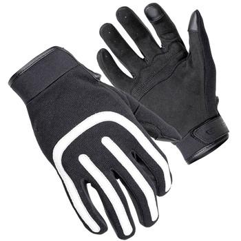 Cortech Brodie Moto Style Gloves - Black/White