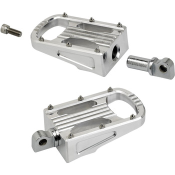 Biltwell Punisher XL Foot Pegs for Harley - Polished