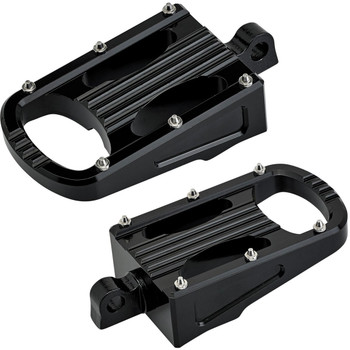 Biltwell Punisher XL Foot Pegs for Harley - Black
