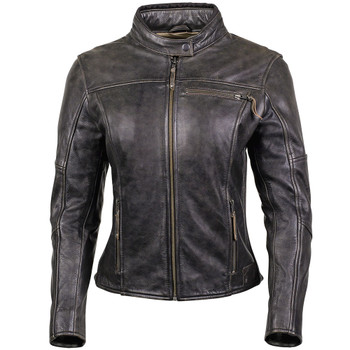 Cortech Lolo Women's Leather Jacket - Brown