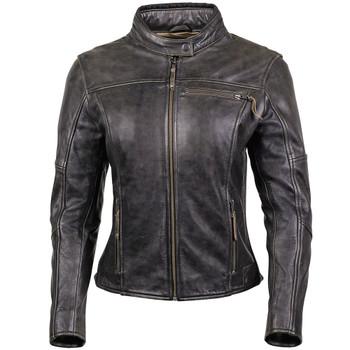 Cortech Lolo Women's Leather Jacket - Brown