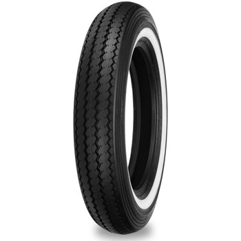 Shinko Classic 240 White Wall Front Tire - 100/90-19