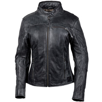 Cortech Lolo Women's Leather Jacket - Black