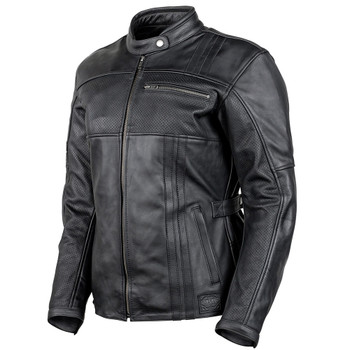 Cortech Runaway Women's Leather Jacket - Black